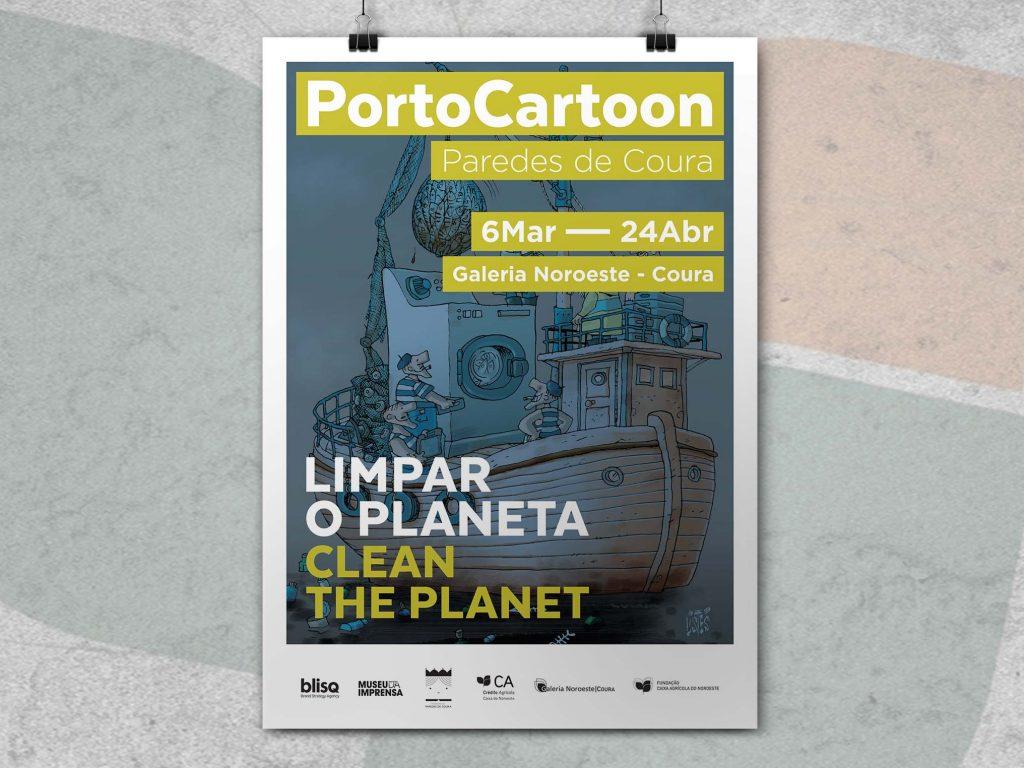 Porto Cartoon 2020 – Limpar o Planeta